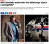 stern.de - MH17-Ermittler droht Haft: Der BGH bringt mich in Lebensgefahr